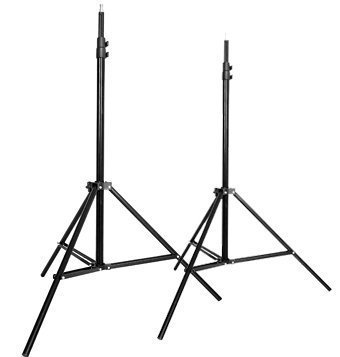 CowboyStudio Set of Two 7 feet Photography Light Stands with Cases