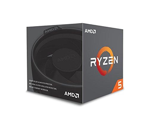 AMD Ryzen 5 2600X Processor with Wraith Spire Cooler – YD260XBCAFBOX