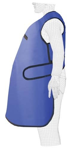 Lightweight Lead X-Ray Apron, Pregnancy Care-Guard, 1.0mm Pb, Front Only, Regular