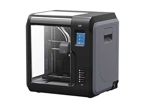 Monoprice Voxel 3D Printer - Black with Removable Heated Build Plate (150 x 150 mm) Fully Enclosed, Touch Screen, Assisted Level, Easy Wi-Fi, 8GB Internal Memory