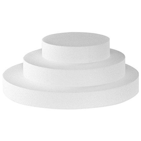 Disco di polistirene 20 x 7.5 cm