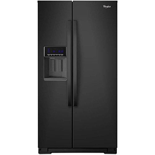 Whirlpool WRS571CIDB WRS571CIDB 20.6 Cu. Ft. Black Counter-Depth Side-by-Side Refrigerator