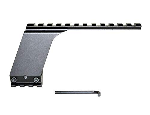 Sniper Picatinny Top and Bottom Rail Accessories Mount for Pistols, Handgun Rail Mounted Laser, Flashlight, Red Dot Sights