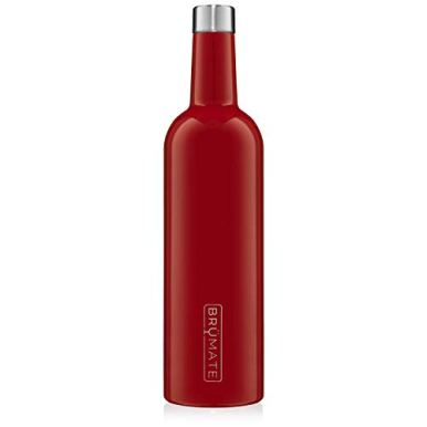 BruMate-Winesulator-25-Oz-Triple-Walled-Insulated-Wine-Canteen-Made-Of-Stainless-Steel-24-hour-Temperature-Retention-Shatterproof-Comes-With-Matching-Silicone-Funnel-Cherry