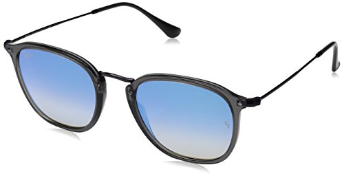 319HM7vmOGL Case included Lenses are prescription ready (rx-able) *Squared unisex shape *Lightweight nylon fibre rims *Coined metal bridge * Thin, matte coloured metal temples paired with new flat gradient mirror lenses
