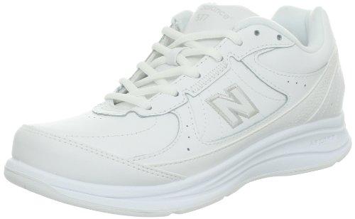 New Balance Women's WW577 Walking Shoe, White, 9.5 B US