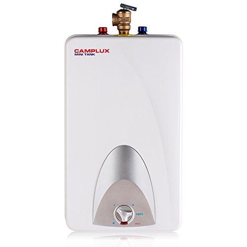 Camplux ME40 Mini Tank Electric Water Heater 4-Gallon,120 Volts