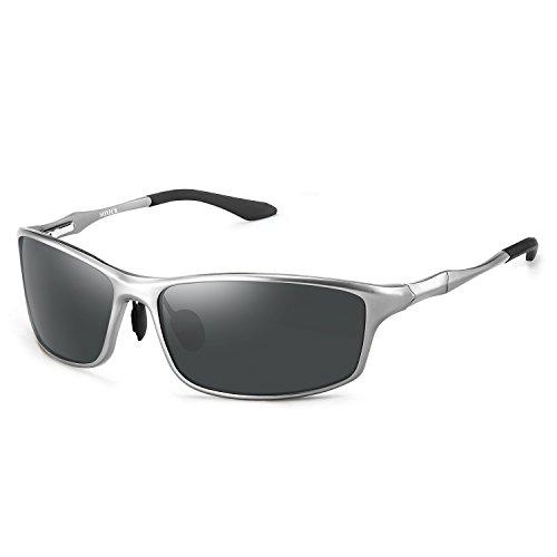 Men's Women's UV400 Polarized Driving Sports Metal Frame Sunglasses