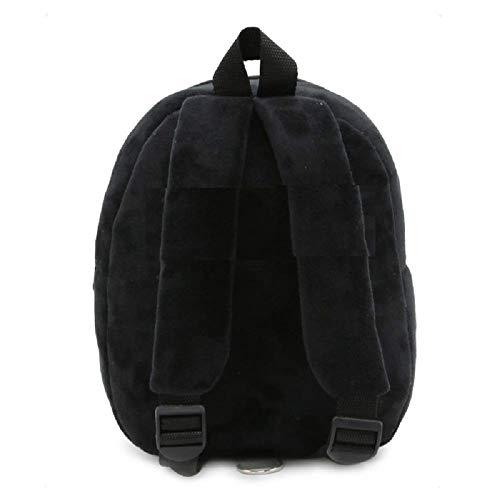 319lAnjOOPL - Black Hill Cute Kids Backpack Toddler Bag Plush Animal Cartoon Mini Travel Bag for Baby Girl Boy 1-6 Years (Batman)