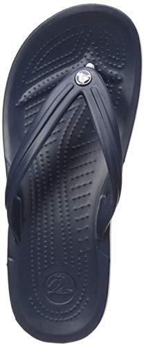 Crocs Crocband Flip Flop, Navy, Men's 12, Women's 14 Medium