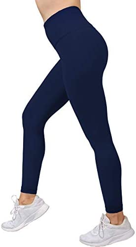 Harewom Tummy Control Leggings for Women High Waist Basic Breathable Soft Compression Workout Tights Pants 1