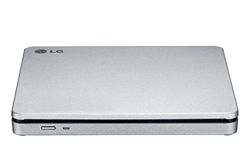 LG AP70NS50 8x DVDRW DL USB 2.0 Slim External SuperMulti Blade Drive - Silver