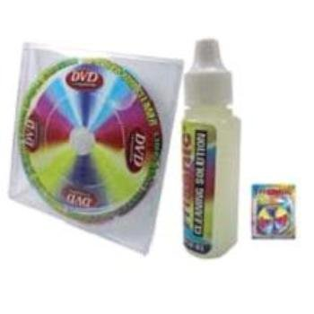 Trisonic CD/DVD/CD-ROM Laser Lens Cleaner-Liquid Included