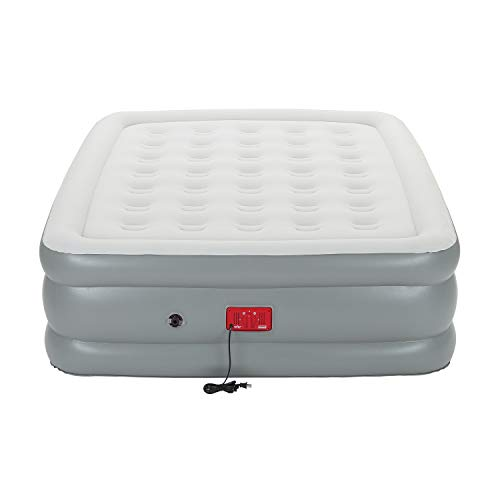 Coleman Air Mattress with Built-in Pump | SupportRest Elite Double-High Inflatable Air Bed, Queen