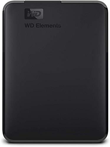 31BTSMhk4mL - WD 4TB Elements Portable External Hard Drive - USB 3.0
