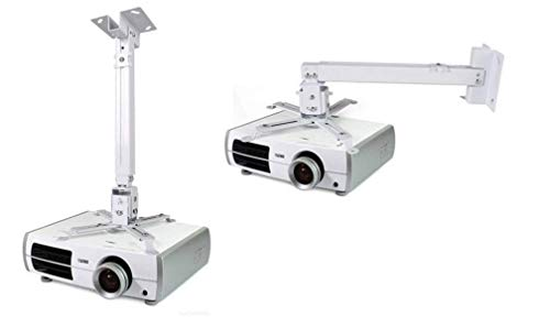 Frackson 3 Feet Adjustable Wall Mount/Ceiling Mount (Iron) Projector Stand (Maximum Load Capacity 25 kg) TODAY OFFER ON AMAZON
