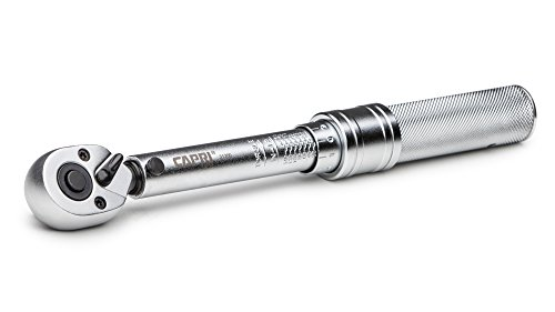2. Capri Tools 31200 20-150-Inch Pound Torque Wrench