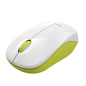 Portronics Toad 12 Wireless 2.4G Optical Mouse with Ergonomic Design, USB Receiver for Notebook, Laptop, Computer, MacBook, Windows, MacOS, (Yellow)