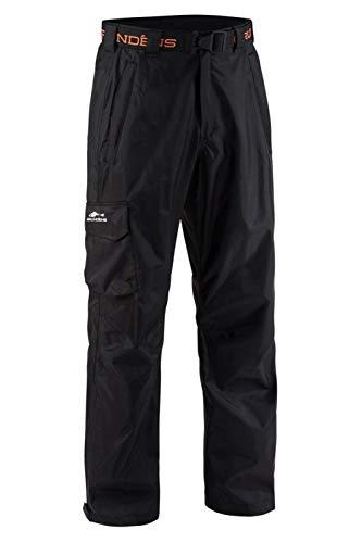 Grunden's Men's Gage Weather Watch Trouser, Black, Large