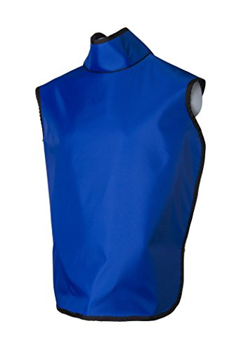 Dental Radiation Lead Apron with Collar and Hanging Loops - Lightweight - Adult
