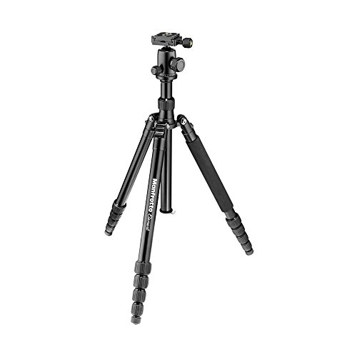 Manfrotto Element Traveller Small Aluminum 5-Section Tripod Kit with Ball...