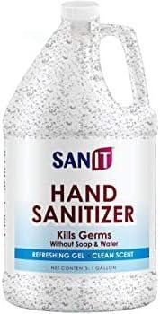 Anti-Microbial Germicidal Hand Gel: One Gallon Alc. Based mostly Bulk (128 oz) 70% Isopropyl Alc. Refill Jug by Sanit