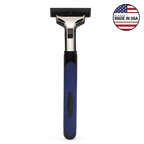 Hajamat Ace II 2 Blade Manual Shaving Razor for Men (1 Handle 20 Blades) 22