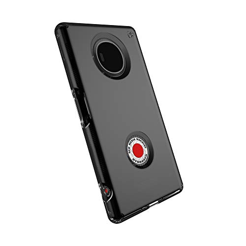 Speck Products Presidio Clear Cell Phone Case for Red Hydrogen - Onyx/Black Matte