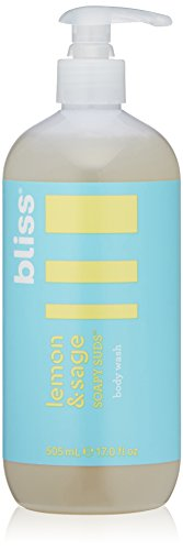Bliss Lemon & Sage Soapy Suds Body Wash   Gentle & Hydrating for Supremely Soft Skin    Paraben Free, Cruelty Free   17.0 fl oz