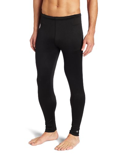 Duofold Men's Mid Weight Varitherm Thermal Pant, Black, Large