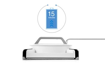 ECOVACS(エコバックス) 窓用お掃除ロボット ガラスクリーニングロボット 静音タイプ WINBOT W950 クラシックホワイト 【日本正規品】