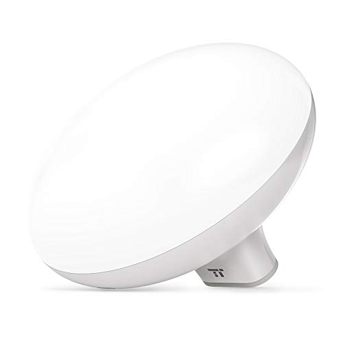 TaoTronics Light Therapy Lamp, 10000 Lux, LED Light Source, 3 Adjustable Brightness, Compact Size