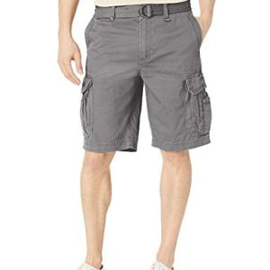 UNIONBAY Men's Survivor Belted Cargo Short-Reg and Big & Tall Sizes
