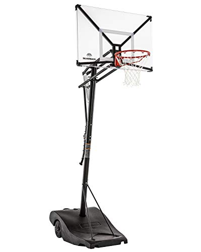 Silverback NXT Portable Height-Adjustable Basketball Hoop Assembles in...