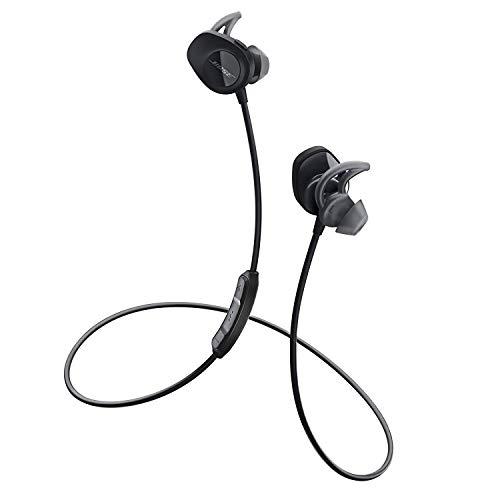 Bose 761529-0010 SoundSport - Audífonos Inalámbricos Dentro del Oído, Negro