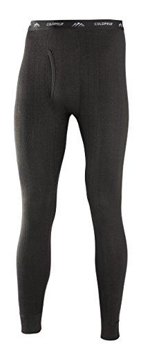 ColdPruf Men's Enthusiast Single Layer Bottom, Black, Medium