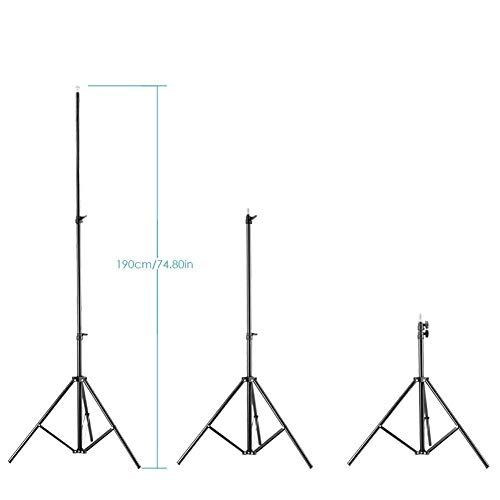 31FAkNElt6L AWAKSHI 71 inch Big Tripod Stand for Phone and Camera Adjustable Aluminium Alloy Big Tripod Stand Holder,Photo/Video Shoot,TIK Tok/YouTube Videos with Mobile Clip Holder Bracket