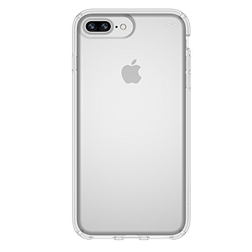 Speck Products Presidio Clear Case for iPhone 8 Plus (Also fits 7S/7 Plus and 6S/6 Plus), Clear/Clear