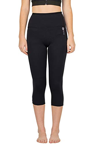 Delfin Spa Women's Heat Maximizing Neoprene Workout Capris