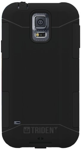 Trident Aegis Series Case for Samsung Galaxy S5 - Retail Packaging - Black