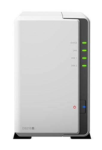 Synology DS218j NAS Disk Station, DDR3 , 2-bay, 512MB DDR3 (Diskless)