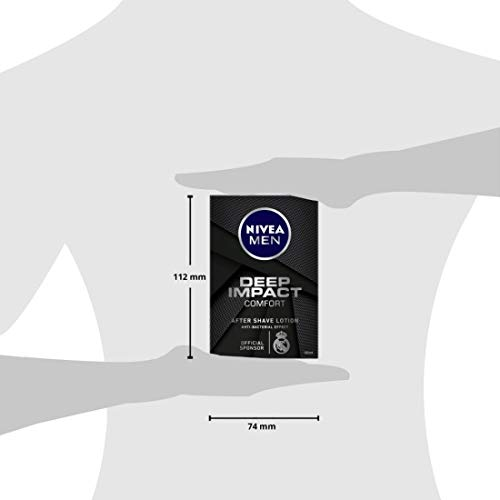 NIVEA MEN Shaving Deep Impact Comfort After Shave Lotion Review 100ml 24
