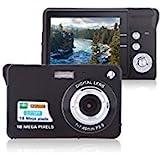 Digital Camera, Lyyes 2.7' Mini Camera HD 720P Digital Point Shoot Camera 8X Zoom Camera for Kids and Gifts (Black)