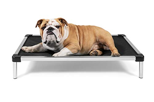 K9 Ballistics Chew Proof Elevated Dog Bed - Chewproof - All Aluminum -...