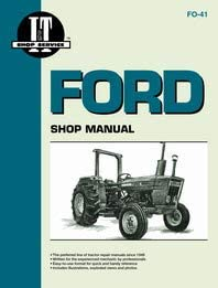 Amazon Com Ford 3600 Tractor Service Manual It Shop Home Improvement