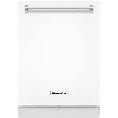 KitchenAid KDTE234GWH 46dB White Built-in Dishwasher with 3rd Rack
