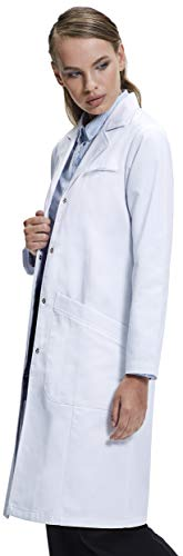 Dr. James Girls's Basic Match Lab Coat (39 Inch Size) US 2  scrubs Store 31HW2LWnDdL