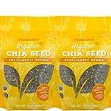 Trader Joe's Organic Chia Seeds 12 oz (Pack of 2)