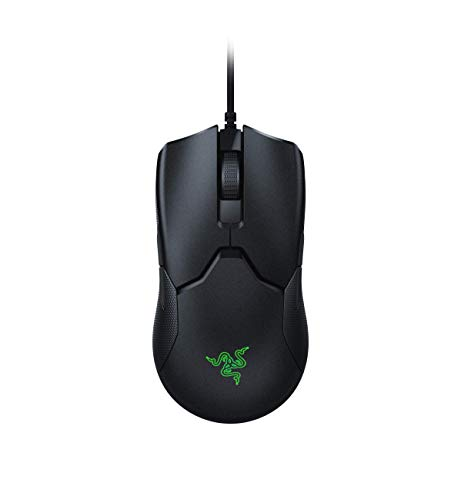 Razer Viper Ultralight Ambidextrous Wired Gaming Mouse: Fastest Mouse Switch in Gaming – 16,000 DPI Optical Sensor – Chroma RGB Lighting – 8 Programmable Buttons – Drag-Free Cord