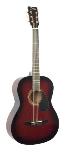 Johnson JG-100-R Student Acoustic Guitar, Redburst